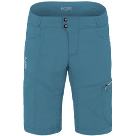 VAUDE Tamaro Korte Broek Heren, blue gray